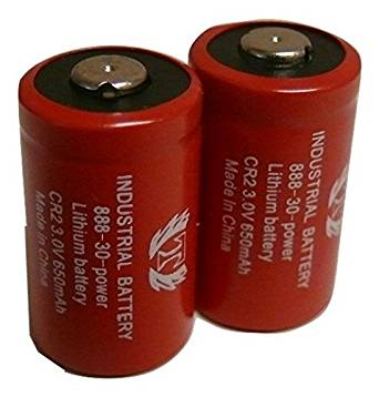 2 Pcs Titan CR2 3.0V 15270 Lithium Battery - EXTENDED 2 YEAR WARRANTY