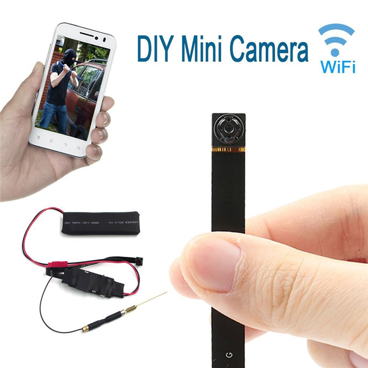 Mini DV Full HD 1080P Spy DIY Module IP Hidden Video Camera WiFi Monitor Cam