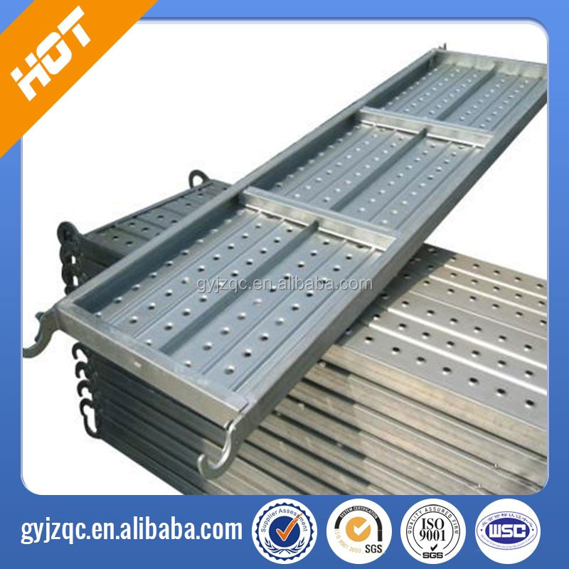 Cheap Galvanized Scaffolding Steel Plank/Walk Board/ Catwalk/galvanized metal tianjin factory