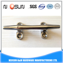 hot sale stainless steel yacht/sail/boat mooring cleat