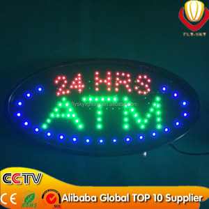 China hot new products good-looking high quality bar/ATM/OPEN led sign board customized size and logo