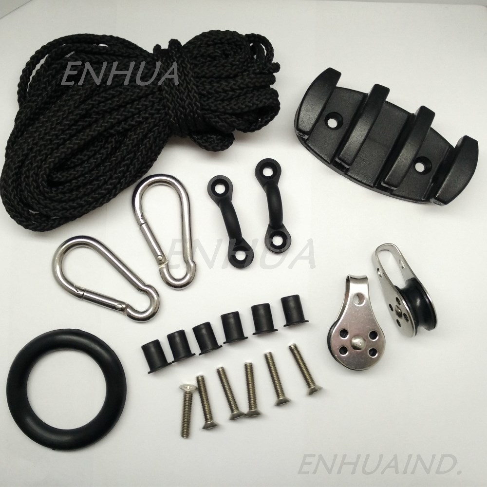 Diy Boat Kayak Accessories Pad Eye Anchor Trolley Kit Buy Kayak Accessories Boat Accessories Kayak Pad Eye Product On Alibaba Com