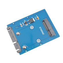 The New Slim Type Mini PCI-E mSATA SSD to 2.5″ SATA 3.0 22pin HDD Adapter Hard Disk PCBA SA-166