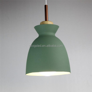 2017 NEW Modern Simple Macaron Color Pendant Lamp Lights Kitchen Island Dining Living Room Shop Decoration Pendant Lights