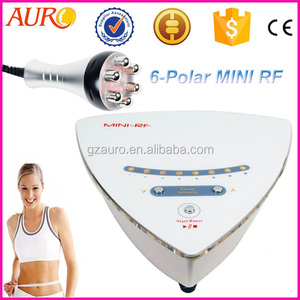 (Au-38B) 6 polar Radio Frequency RF Facial Skin Care Rejuvenation machine