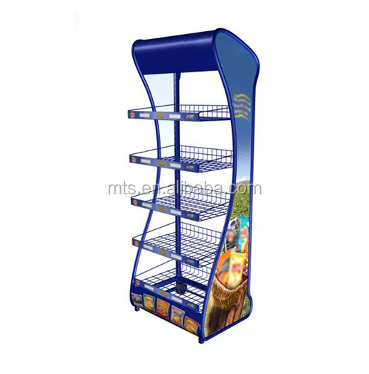 Powder Coating Standing Tile Metal Display Racks For Pvc Graphic Brochure Holder