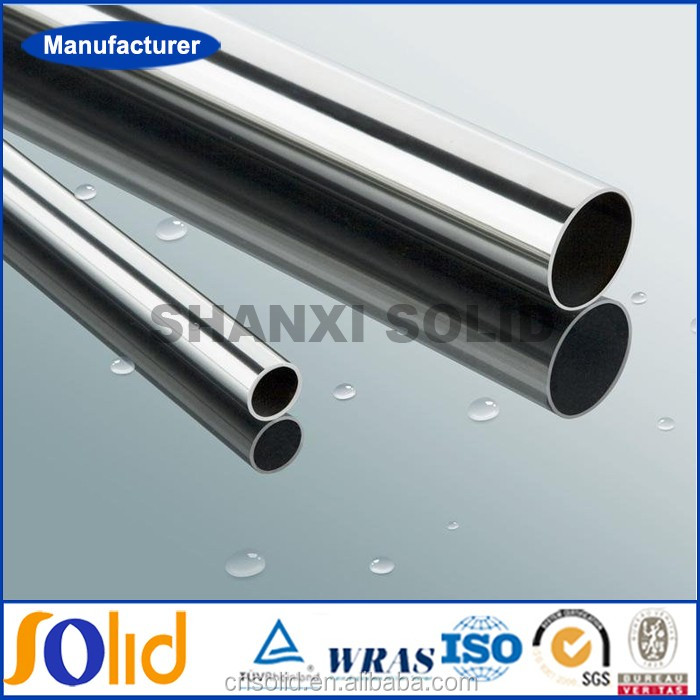 ASTM A249 / A269 / A312M / DIN 17456 / JIS G3448 ERW Stainless Welded Steel Pipes / Pipe
