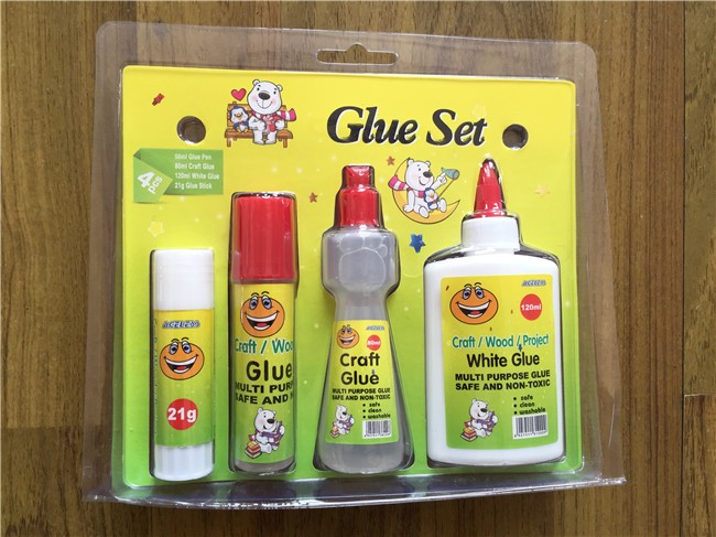 no toxic hihg quality pva solid stick paper tube glue in blister card