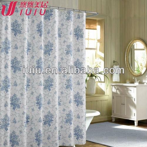 ビニールのシャワーカーテン、 ビニールのシャワーカーテンを印刷した