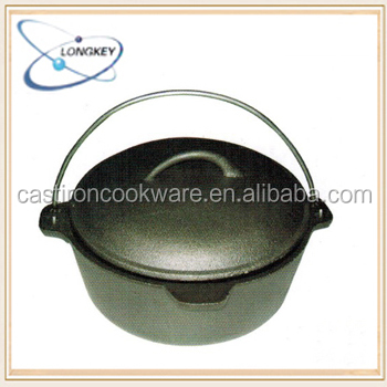 LFGB qualifed cast iron dutch oven