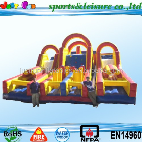 inflatable play ground, inflatable fun city, giant inflatable city