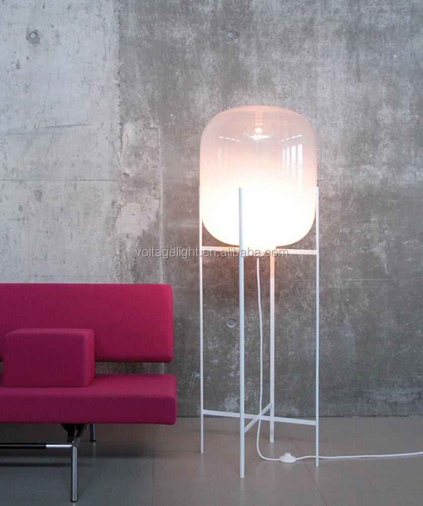 Decorative glass floor lamp oda big floor standing lamp unique glass decorative glass floor lamp oda big floor standing lamp unique glass floor lamps aloadofball Images