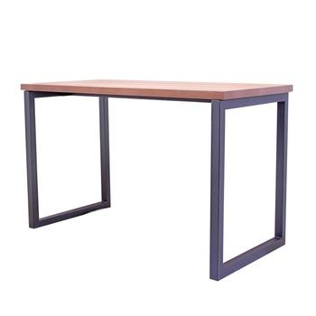 wholesale large square mdf coffee shop table with metal frame