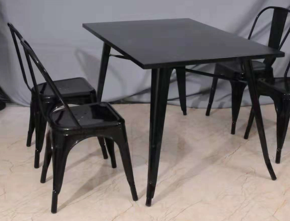 Cheap Modern Design Metal Dining Table