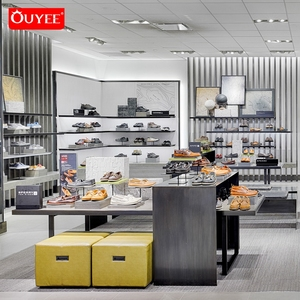 Bag Shop Display Shelves Footwear Shop Furniture Interior Design Shoe Store Display Rack