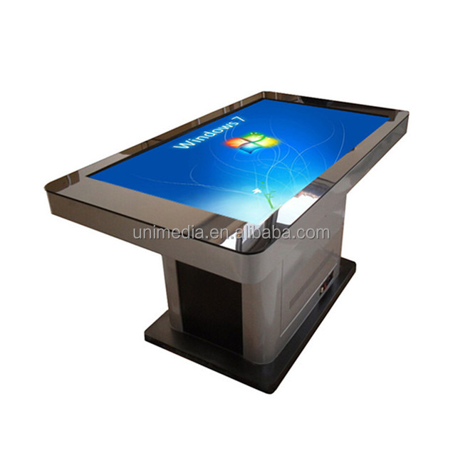 Wifi water-proofed screen 42 inch HD TFT interactive lcd tablet kiosk