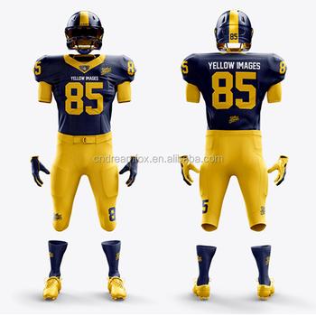 low priced 4c0e0 3d432 2018 Design Cheap Custom Fashion American Football Jerseys Uniforms Custom  Made American Football Jerseys For Kids - Buy Wholesale American Football  ...