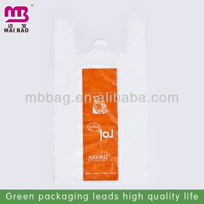 good quality recycled t-shirt plastic bag for textile rolls
