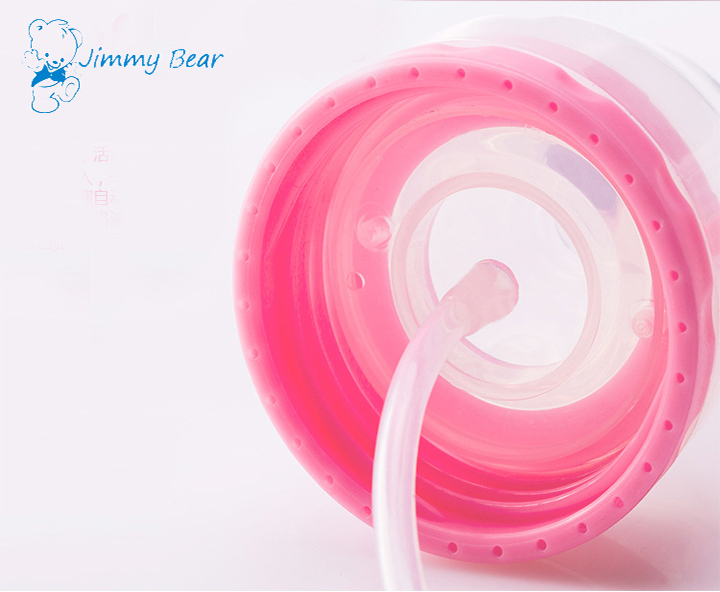 Wholesale 6oz food grade PP baby bottle straw
