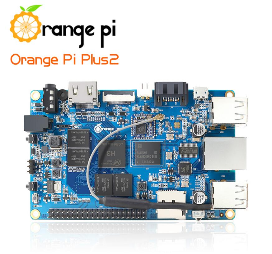 Orange Pi Plus 2 H3 Quad Core 1.6ghz 2gb Ram 4k Open-source ...