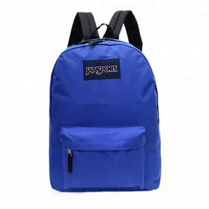 polyester blank plain backpacks wholesale made in China