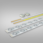 rgbw 24v led strip for wall mount display light panel