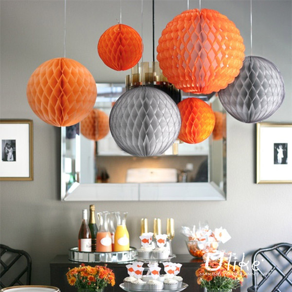 tissue paper honeycomb ornaments ball shade decoration lantern wedding light decoration