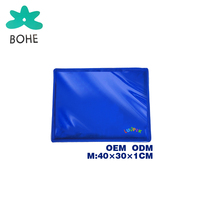 Bohe LUVP + K Brand Eco-Friendly Anti Damp Waterproof Keep Aluminium Foil Gel Summer Pet Dog Cooling Ice Mat Pad
