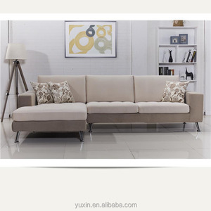 europe style simple SMALL CORNER fabric sofa suitable mail sales