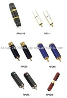 Hi End Rca Plug Xlr Connector