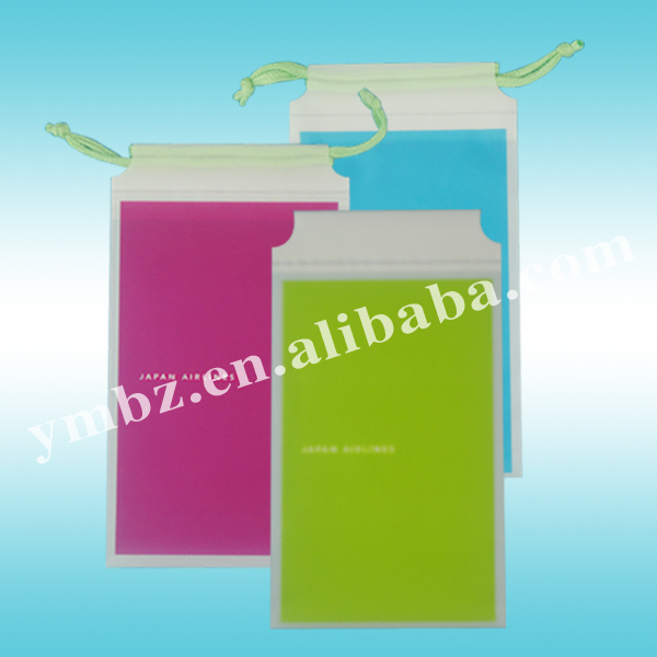 Wholesale travel vomit portavle plastic sickness bag with loop