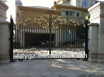 The Simple Main Gate Design Home - Buy Iron Main Gate Designs,Main ...
