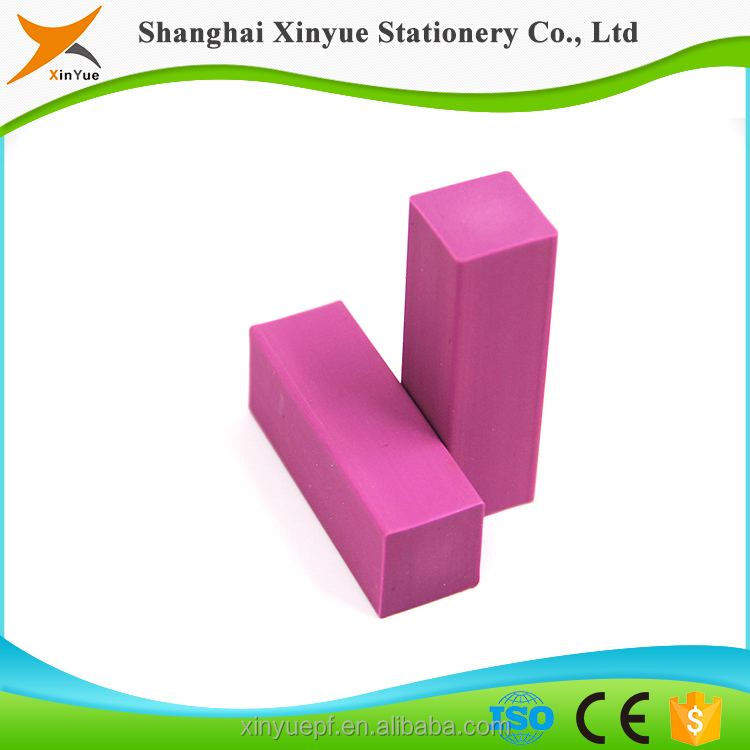 stationery item TPR fancy pencil eraser for school and office