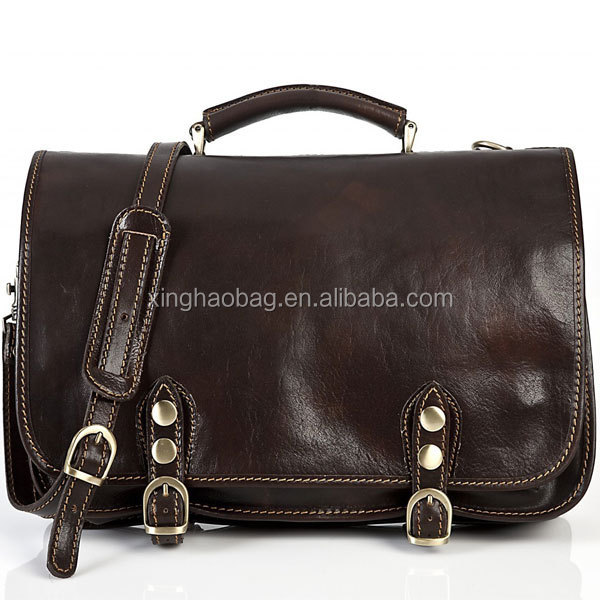 Western Leather Handmade Briefcase Men Bag Best Man Bags Leather ...