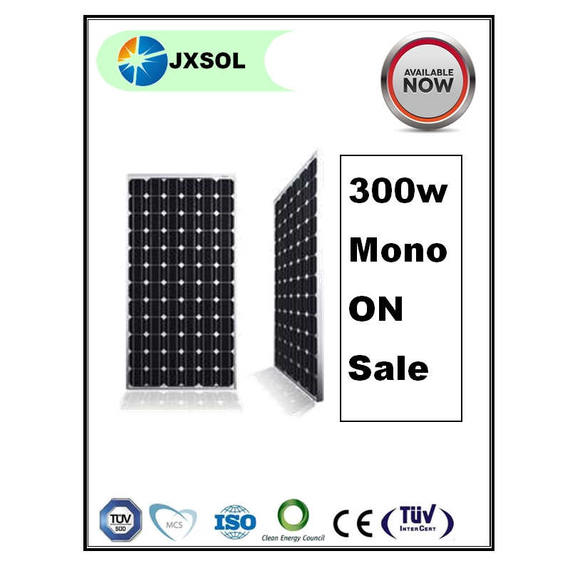 cheap price single crystal silicon PV module 1 kw solar module solar panel 300watt SOLAR PV