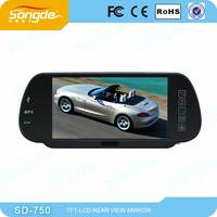 High quality Best 7inch rearview mirror with bluetooth backup camera rear view mirror