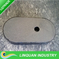 2QC Slide gate Plate Refractories