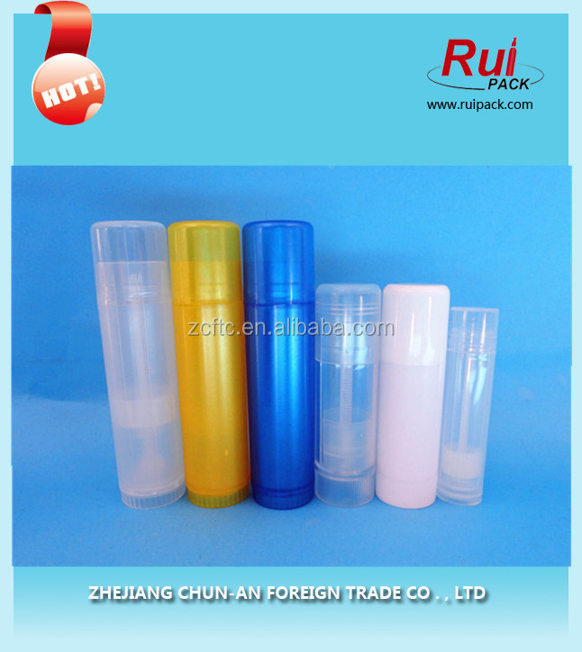 Plastic Lipstick Lip Gloss Lip Balm Tubes/bottle/fashion Make-up Cosmetics Packaging