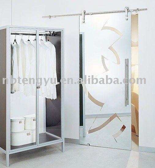 porte coulissante en verre portes id de produit 313204845. Black Bedroom Furniture Sets. Home Design Ideas