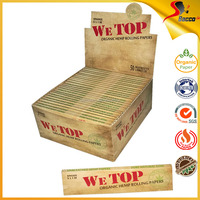King Size Hemp Rolling Paper Custom Your Own Design Printed On Package