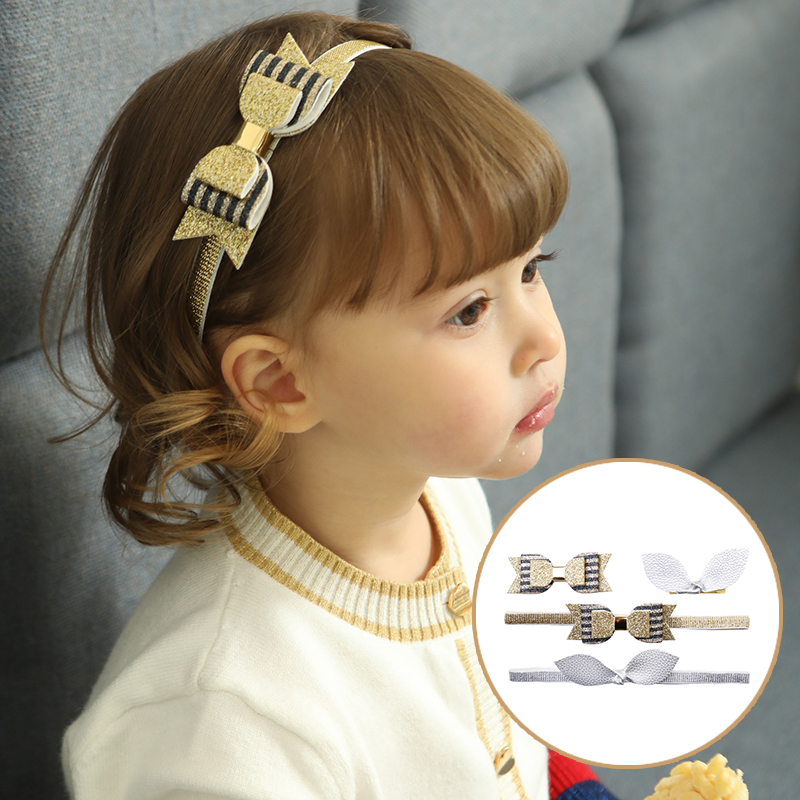 2018 New Fancy Designer Baby Hair Bands Girls Bow Headband Wholesale ... 9ea0df2b42e