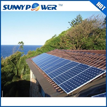 China Wholesale Home Solar Power System Home 3kw 5kw 10kw