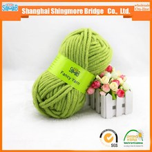 chinese yarn factory wholesale high quality with low price bulky wool yarn for scarf yarn