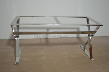 Stainless Steel Dining Table Frame Metal