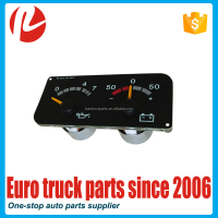 European truck auto spare parts oem 1434135 instrument cluster for SC oil pressure guage