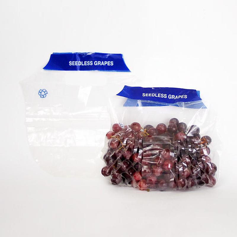 Kunststoff PE Obst Tasche Für Trauben Verpackung