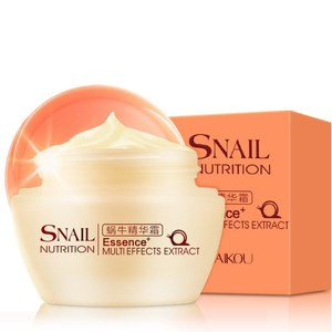 Private label deep nourishing snail extract whitening cream for skincare