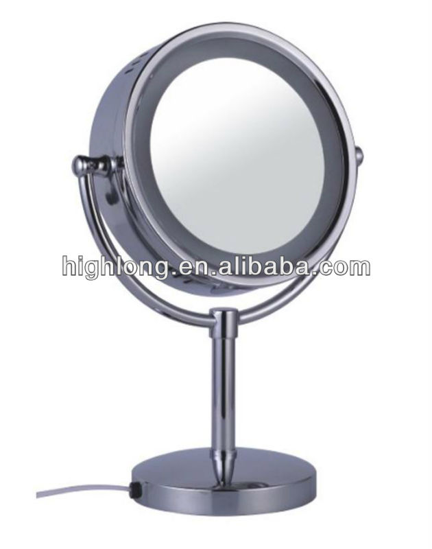 HL-3008 vanity mirror standing led mirror table top mirrors