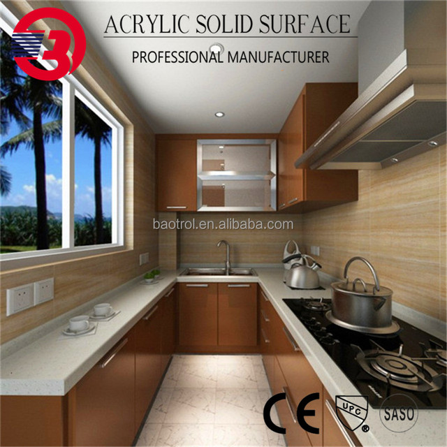 Premium Quality Low Cost Composite Stone Kitchen Countertop