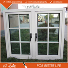 YY Home arch window french casement glass windows with aluminum frame